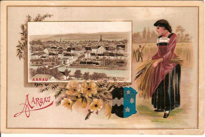 Die Drei Rheinbrücken Und Münsterturm Attraktive Mode Alte Postkarte Basel